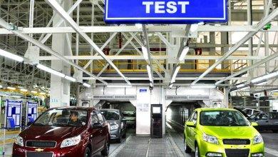 испытания на заводе GM Uzbekistan