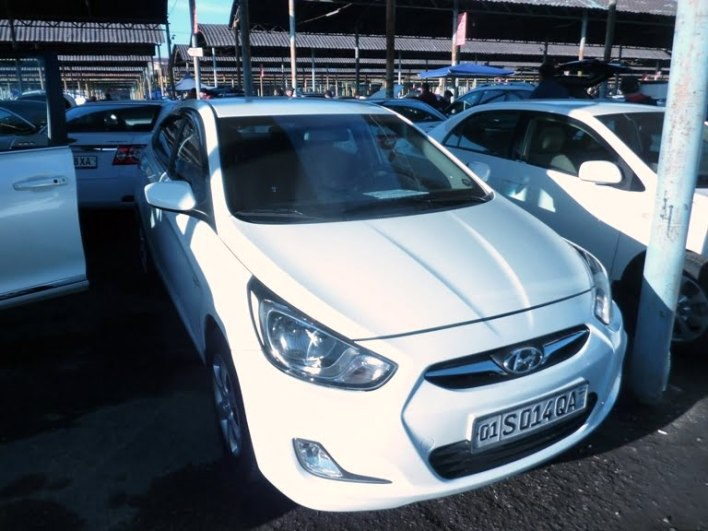 Hyundai Accent , год выпуска: 2011; Пробег: 133 000 км.<br /> Цена: 98 400 000 сумов.