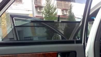 Шторка на окне двери Chevrolet Lacetti