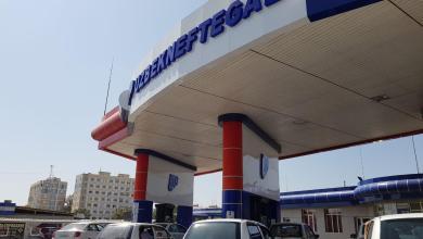 Автомобильная заправка Узбекнефтегаз, иллюстративное фото