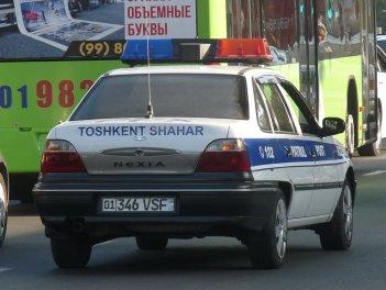 VSF милиция ППС ГАИ в Ташкенте