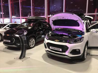 Chevrolet Tracker - в автосалоне Nurafshon Avtocentr в котором можно купить Треккер