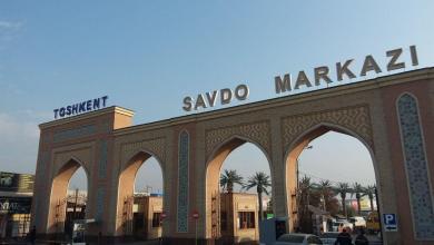 Стоянка возле базара Абу Сахий в Ташкенте - ГАИ начали штрафовать за неправильную парковку возле базаров