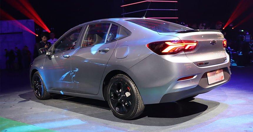 Chevrolet Onix корма