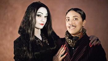 Halloween Dreams Come True Robin And Carly As Morticia And Gomez Addams