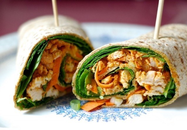 Great-Edibles-Recipes-Spicy-Peanut-Chicken-Wrap-Weedist-640x442