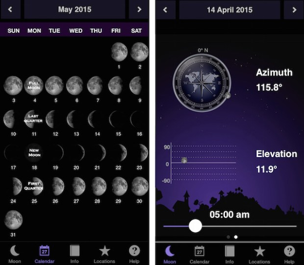 moon-calendar-app
