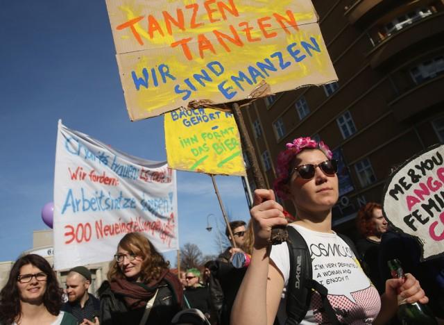 International Women's Day In Berlin