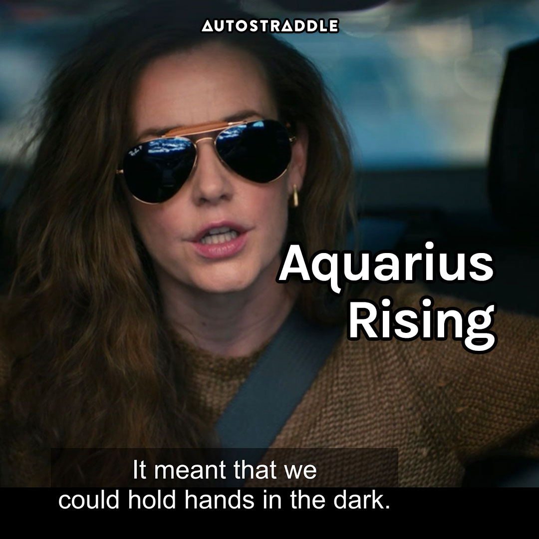 """Aquarius Rising: Nat in sunglasses, """"It meant that we could hold hands in the dark."""""""