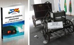 """Libro """"Primer Automóvil Argentino – Lazo de unión entre dos pueblos"""""""
