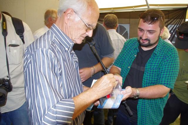 Eduardo Sal-lari en Expo Auto Argentino