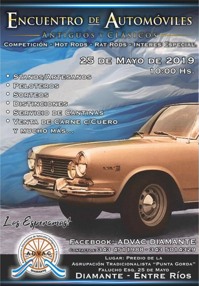 6º Encuentro de Automóviles Antiguos y Clásicos en Diamante, Entre Ríos.
