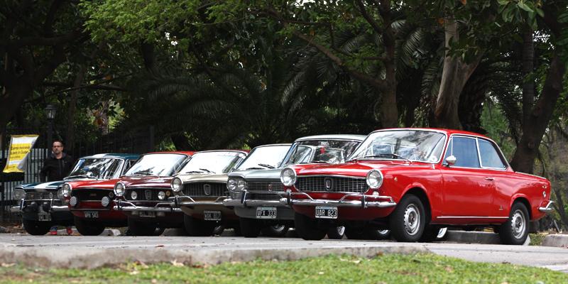 Caravana por los 100 años de Fiat en Argentina