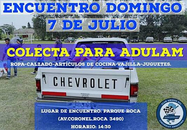 Reunión de julio del Club Amigos del Chevrolet Argentina