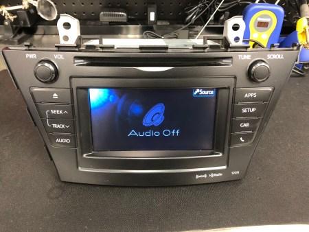 Toyota Prius Navigation MFD Display Screen