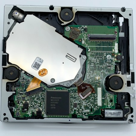 Photo of Toyota Lexus map DVD drive