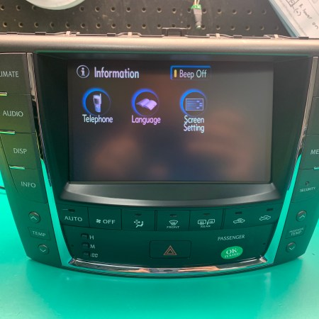 Photo of 2009 Lexus IS Refurbished Navigation Unit