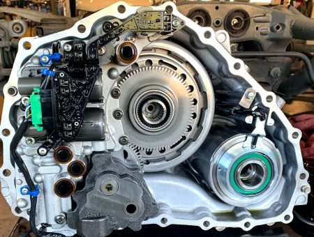 Nissan GTR R35 GR6 14P Clutch Upgrade Image Inside Transmission