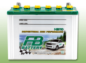 FB BATTERY NS110L