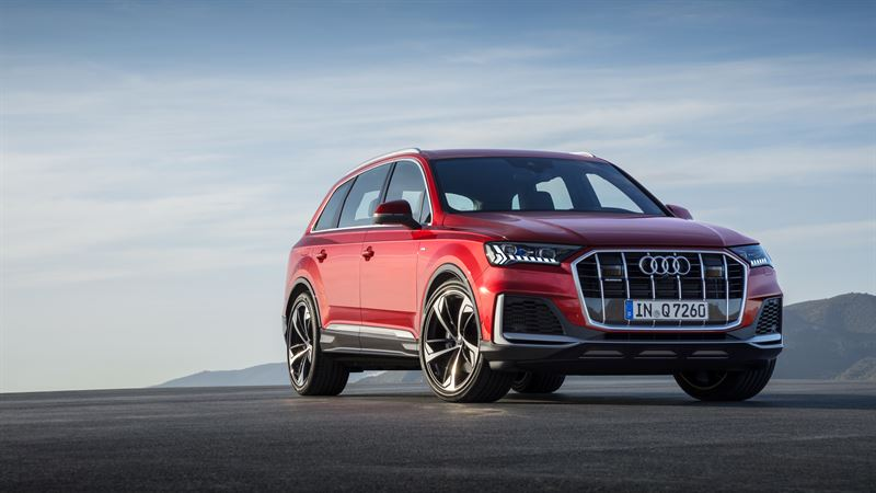 Audi Q7 – Audin isoin SUV-malli uudistuu