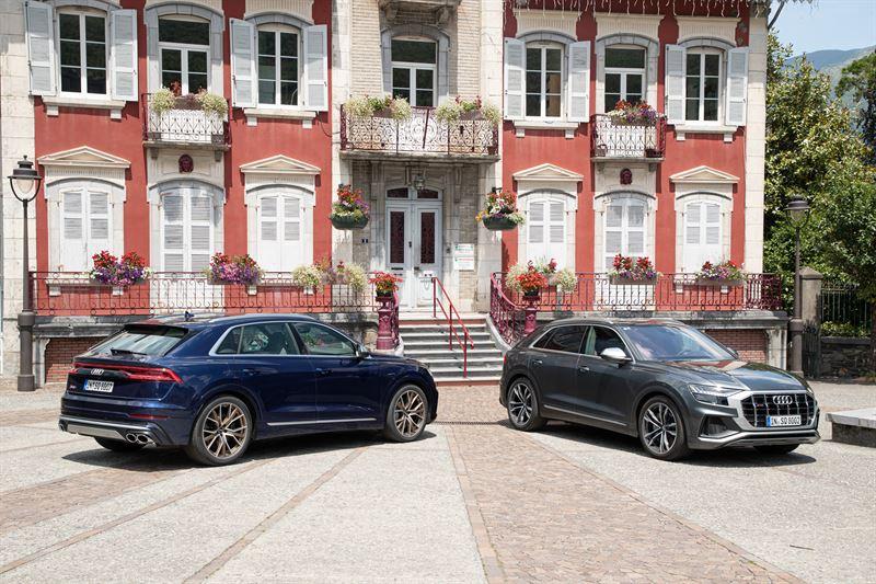 Huippuluokan suorituskykyä – Audi SQ8 TDI