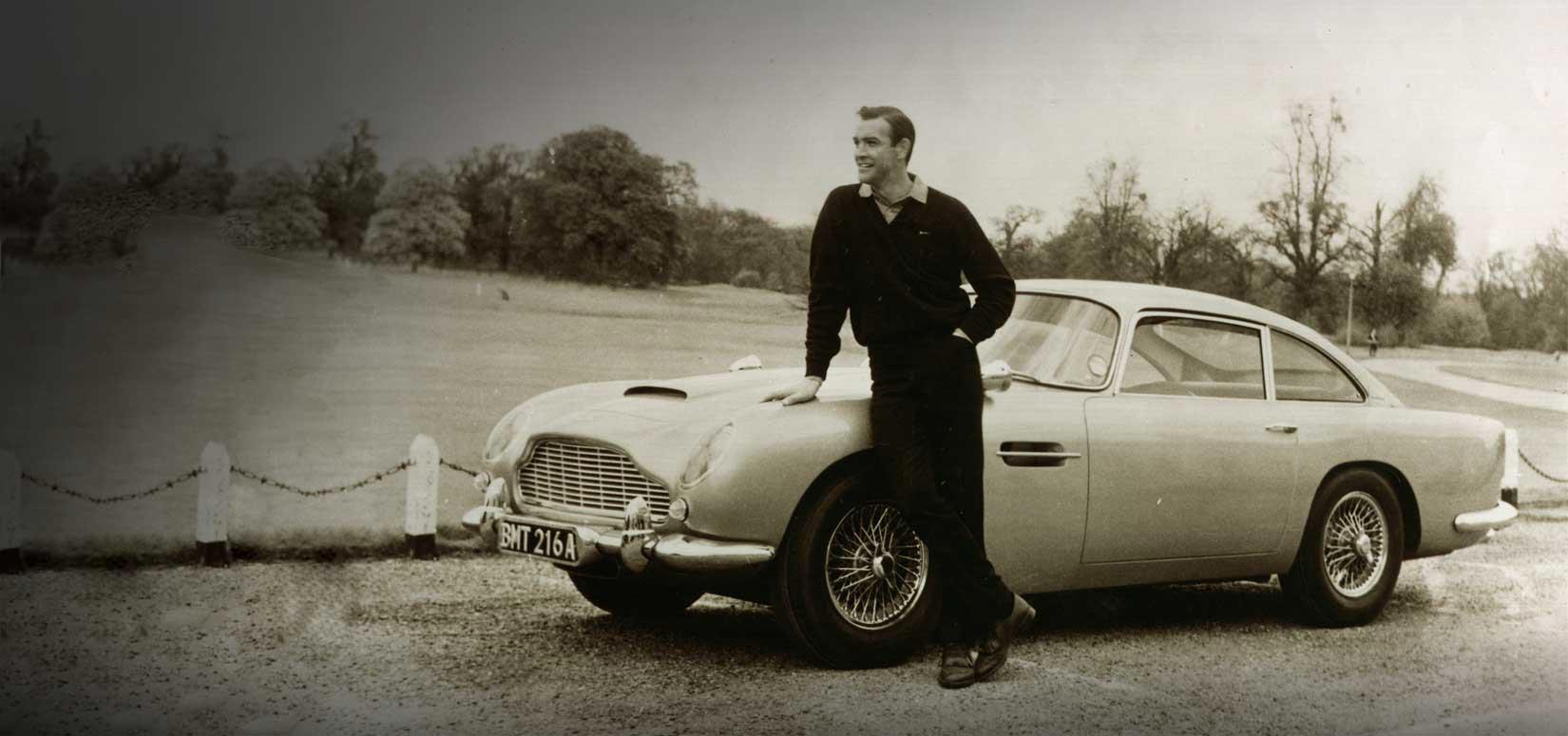 Agentti 007 ja rakkaus Aston Martiniin