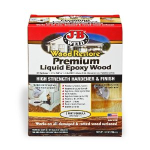 Weld 40002 Wood Restore Premium Liquid Epoxy Kit - 24 oz.