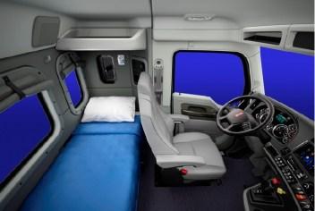 Nueva cabina de 40 pulgadas con dormitorio para el T680 y T880 de Kenworth