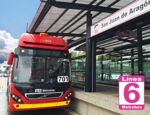 Inauguran la Línea 6 del Metrobús