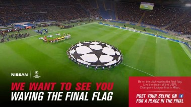 Nissan promete un lugar a todos los aficionados en la final de la Liga de Campeones