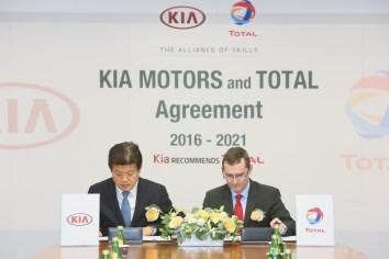 TOTAL y KIA renuevan alianza estratégica