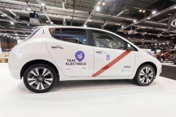 Nissan integra taxis eléctricos en España
