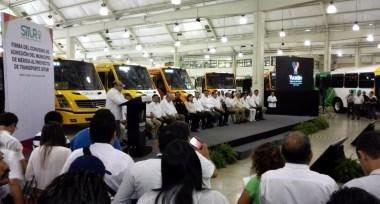 Mercedes-Benz Autobuses mejora la movilidad urbana en Yucatán