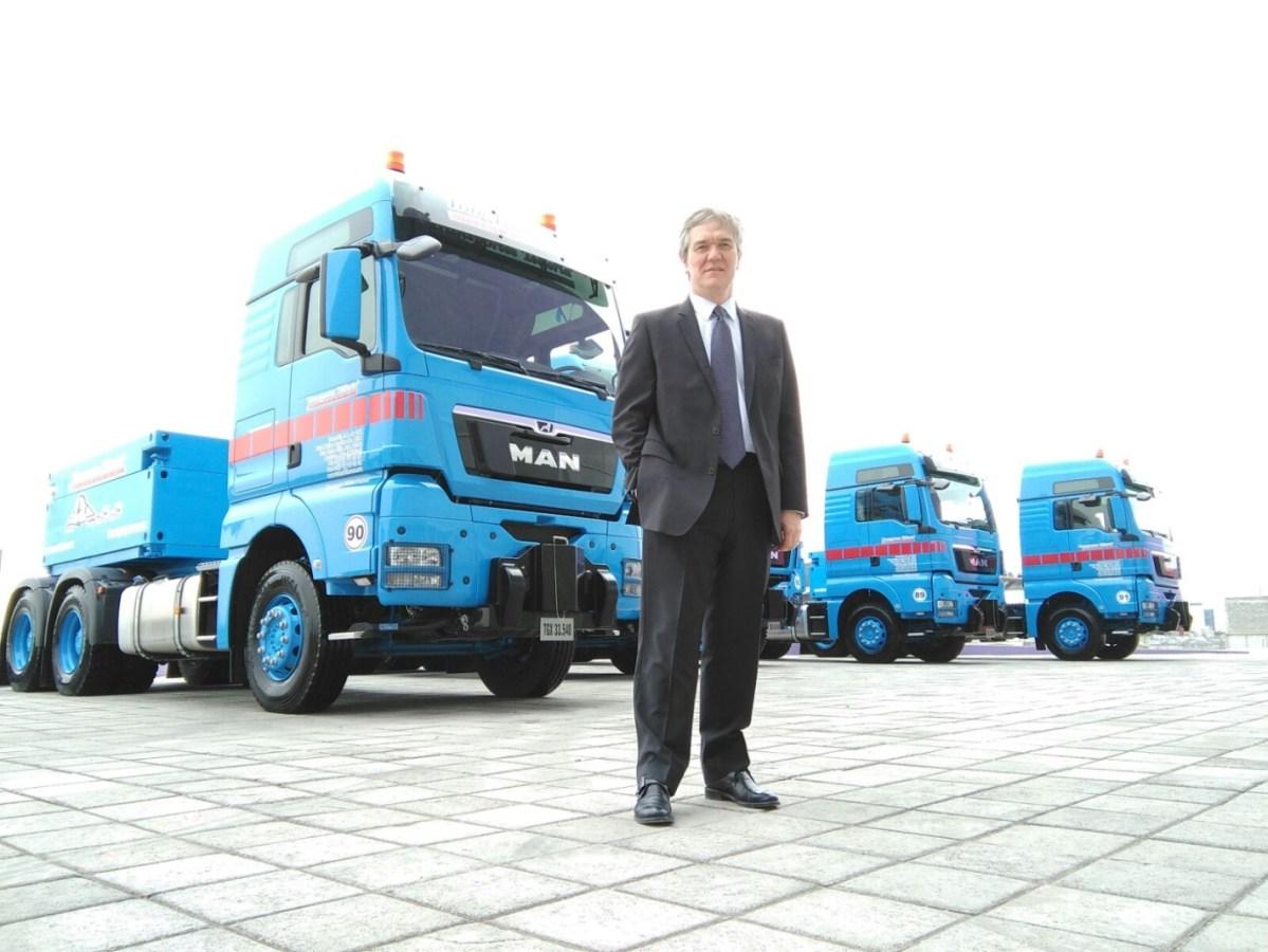 Transportes Tellería adquiere ocho unidades MAN