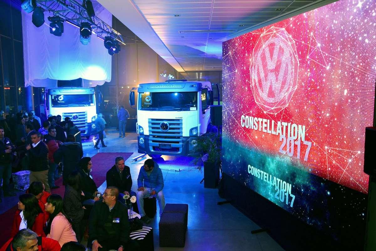VW lanza cuatro modelos Constellation en Chile