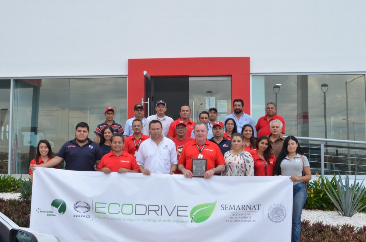 Hino y Transporte Limpio promueven conducción sustentable en Culiacán