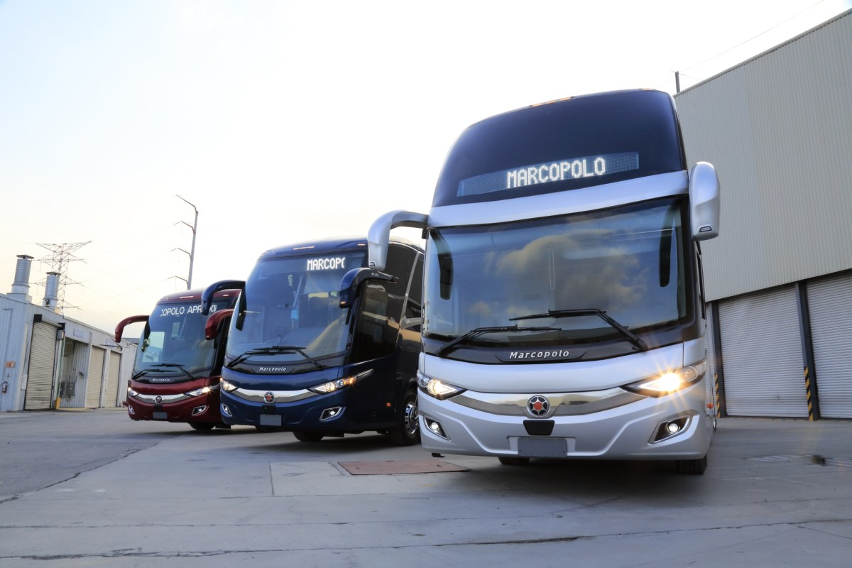 ¡La nueva familia G7 Plus de Marcopolo ya está en México!