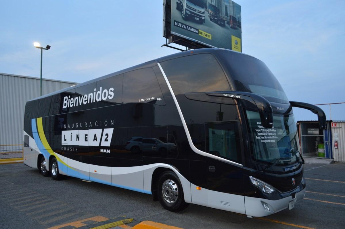 Línea 2 de chasis MAN: Autobuses con alma queretana