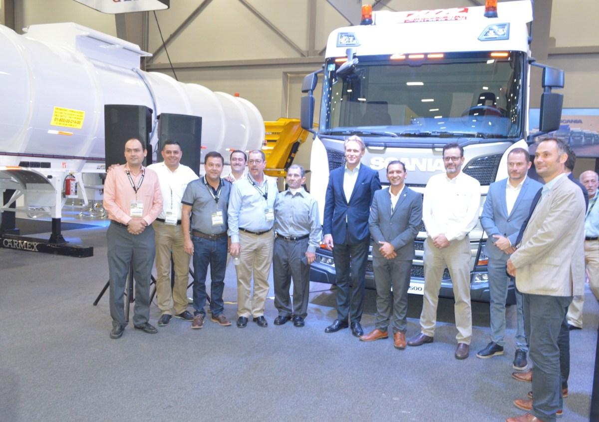 Scania México otorga reconocimiento a Autolíneas Regiomontanas