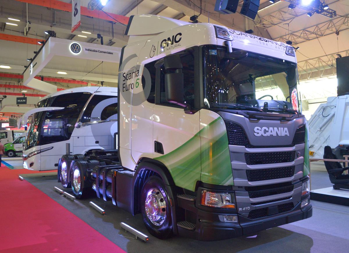 Scania, con la tecnología más limpia para carga y pasaje