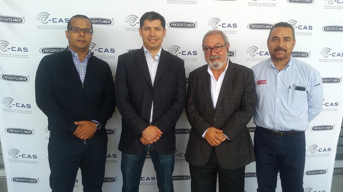 Daimler Trucks pone en marcha E-CAS en Zamora