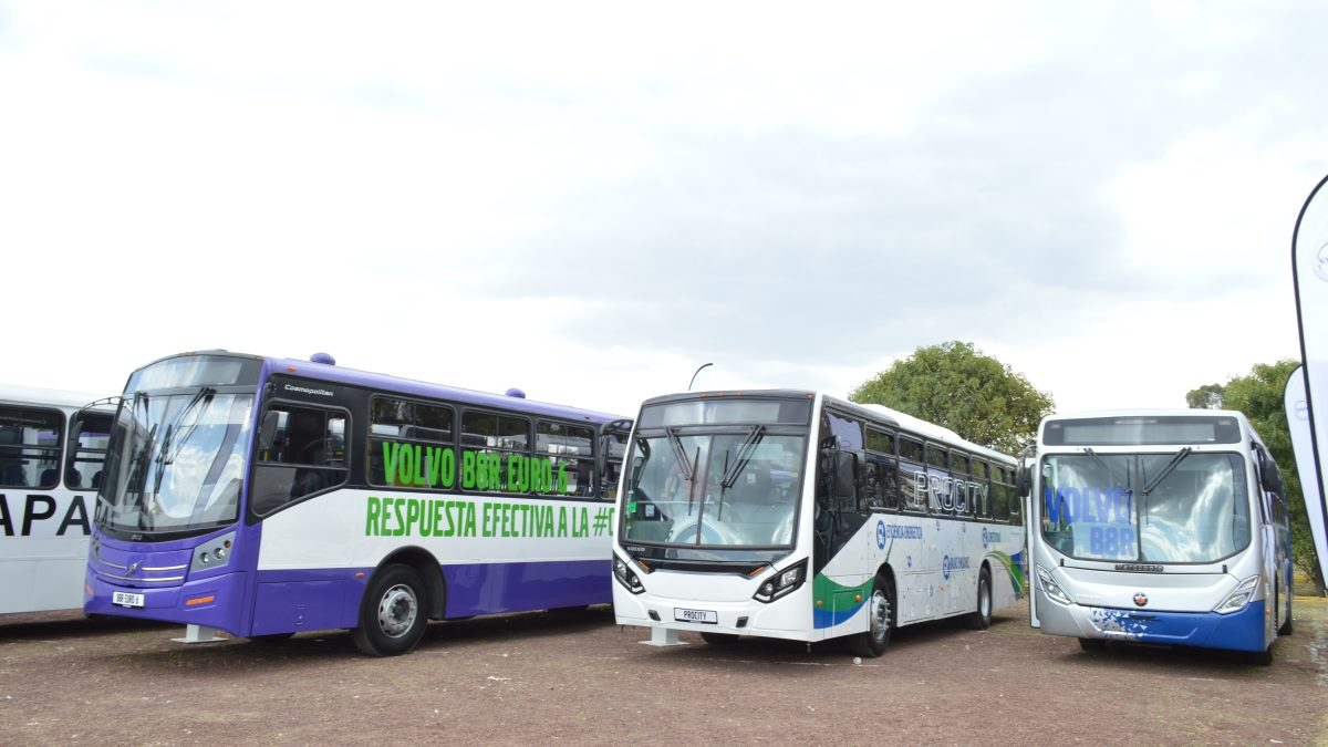 Alinea Volvo Buses operaciones a emergencia sanitaria