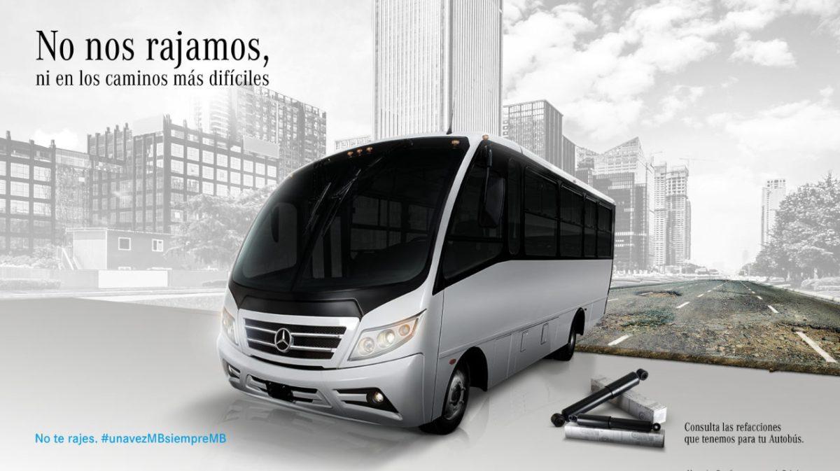 MB Autobuses «No Se Raja» ante la pandemia