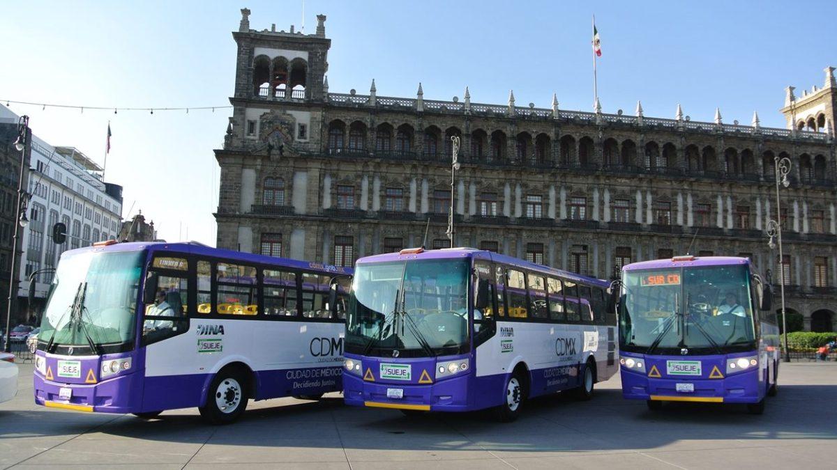 Dará CDMX apoyos a transporte concesionado por COVID-19