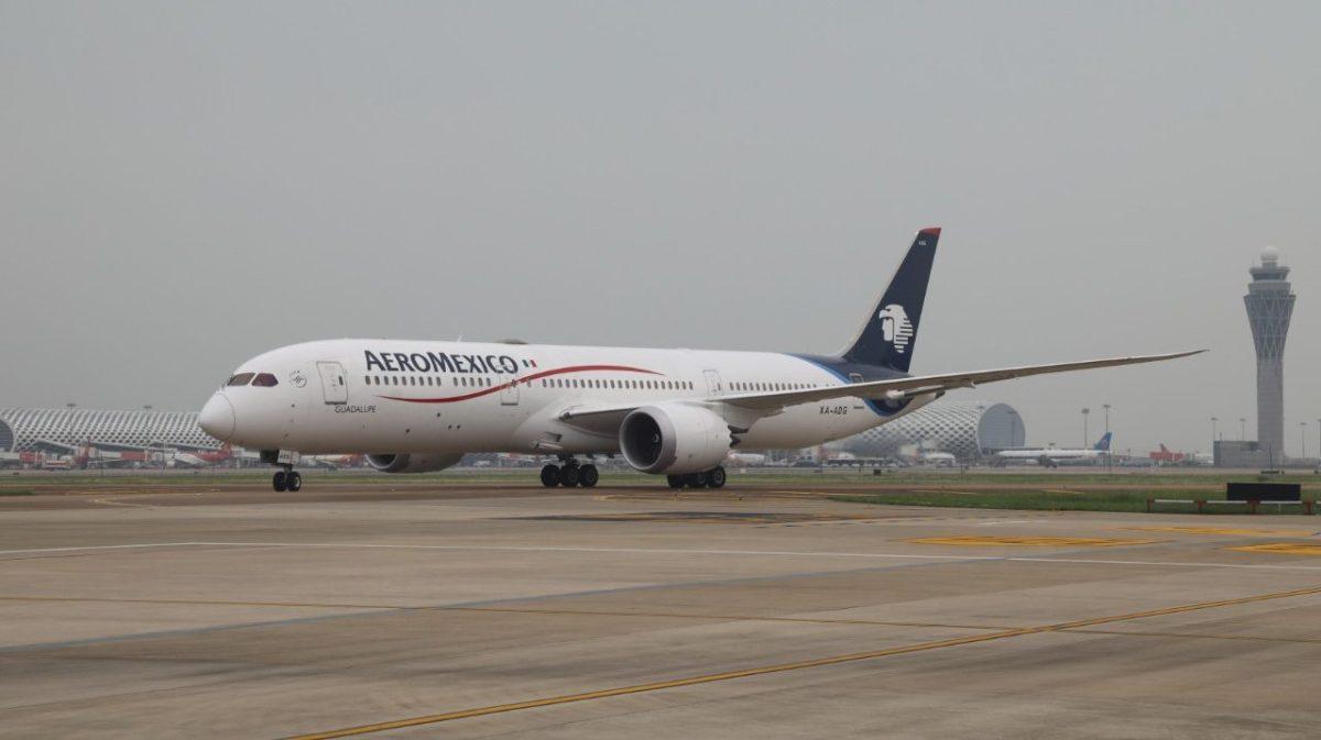 Realiza Aeroméxico el vuelo de mayor alcance en la aviación mexicana