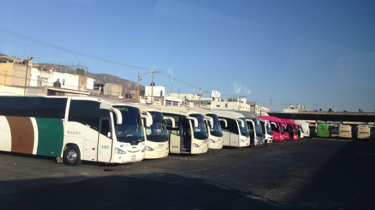 Pasaje de líneas de autobuses cae 75% en mayo
