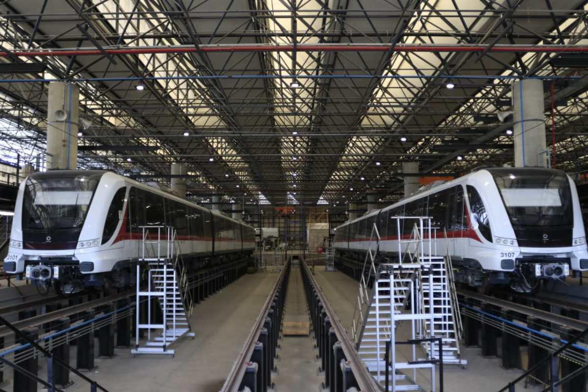 Supervisa SCT obras en la Línea 3 del tren ligero de Guadalajara
