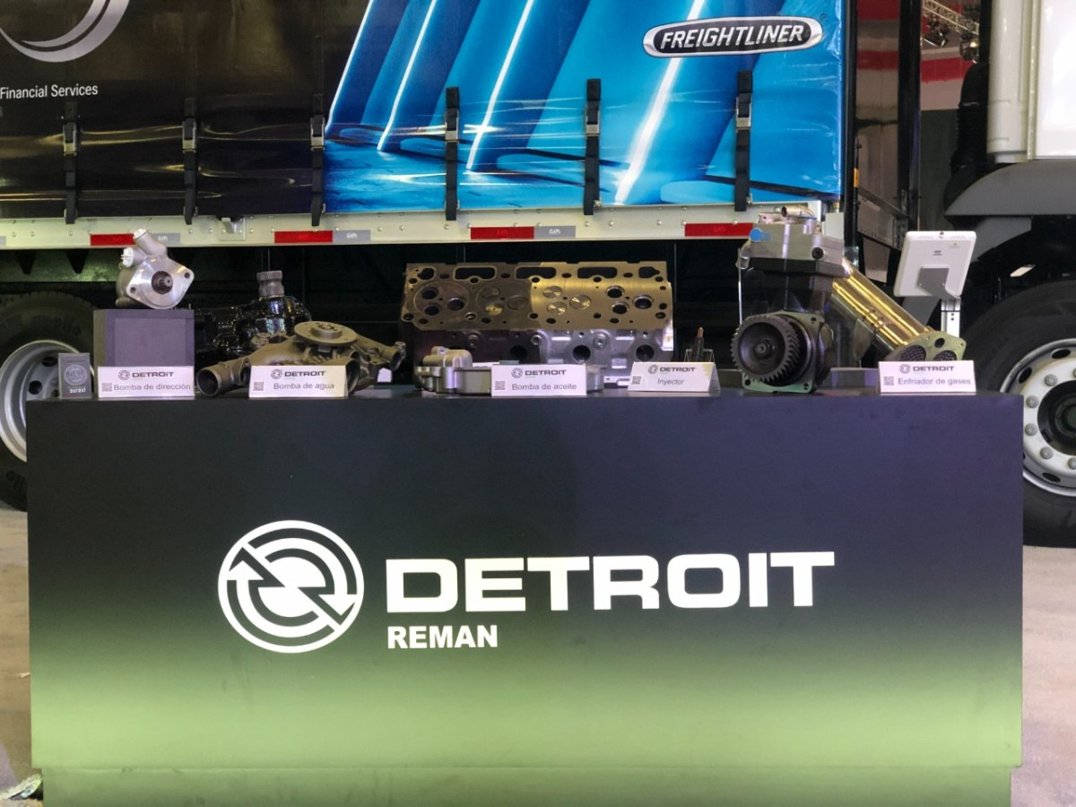 Detroit Reman: eficiencia en productos remanufacturados Daimler