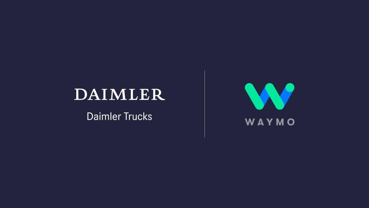 Daimler y Waymo concretan alianza para desarrollar camiones autónomos