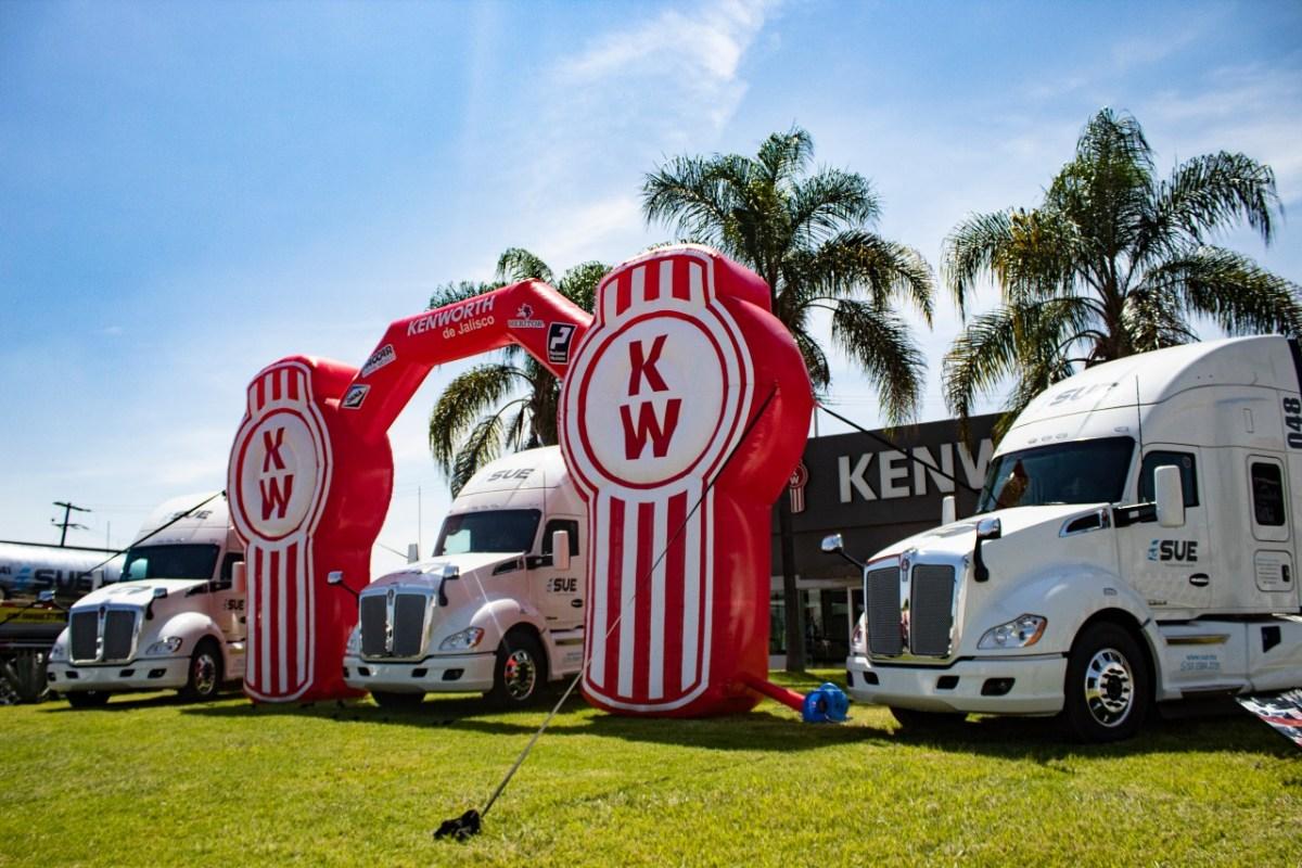 SUE Transportes renueva flota con Kenworth de Jalisco